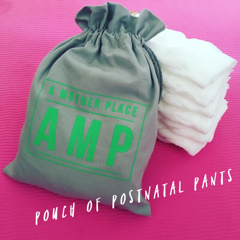 pouch of postnatal pants