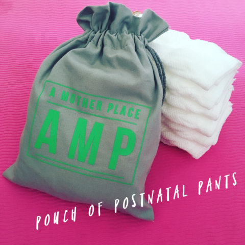 pouch of postnatal pants